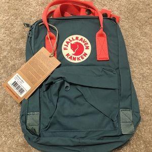 Kanken Mini Backpack Frost Green/Peach Pink - NEW